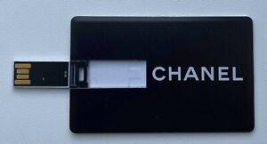 CHANEL USB FLASH DRIVE BLACK CHANEL 2013 2 GB rare VIP GIFT