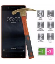 2 Pack Nokia 6 Tempered Glass Screen Protector Easy Bubble-Free Installation