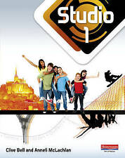 Studio 1 Pupil Book (11-14 French) by Clive Bell, Anneli McLachlan (Paperback, 2010)
