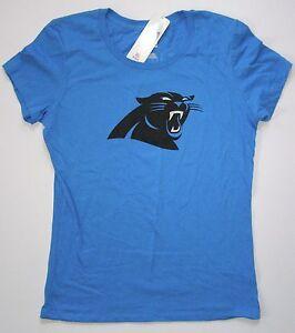 NFL Majestic Carolina Panthers Women's Cam Newton Name & Number Shirt