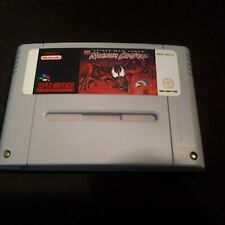 Spider Man Venom Maximum Carnage Super Nintendo snes nes