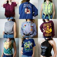 Vintage 80s, 90s, Y2K Tops Blouses Vests Shirts Sweaters T-Shirts Jumpers Retro