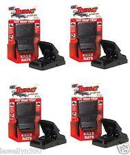 4pk NEW! Tomcat Reusable Snap Rat Trap 4pk