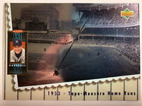 1994 Upper Deck Mickey Mantle Heroes 1953 Tape Measure Home Runs