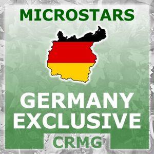 CRMG Corinthian MicroStars GERMANY EXCLUSIVES (like SoccerStarz)