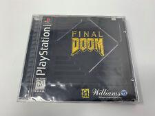 NEW Final Doom (PlayStation 1, PS1 1996)  SEALED RARE A5881
