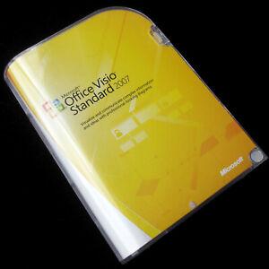 Microsoft Office Visio Standard 2007, D86-02751, Full UK CD Retail box