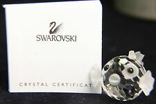 BLOWFISH medium Swarovski Crystal Figurine NEW IN BOX made in Austria  #012724