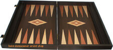 60X49 cm Super Backgammon Set Back Gammonbrett  Spiel Checkers Holz NEU