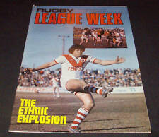 Rugby League Week Newspaper/Magazine Vol 8 No 23  1977