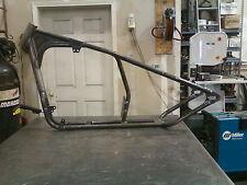 30 Degree Rake Single Downtube Buell Bobber Frame for Stock Forks & Rear Wheel