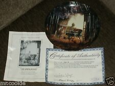 The Spring Buggy by Maurice Harvey First Plate on Country Nostalgia Series Coa