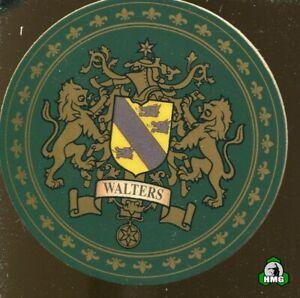 English Heraldic Coaster: Walters