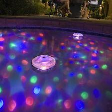 LED Wasserdichter Unterwasser Durable Lichtshow Lampe Partei Pool Neu.