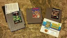 Lot Of 3 Nintendo Games NES Wheel Of Fortune W/Manual Othello W/Manual Dr Mari0