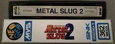 METAL SLUG 2 - SNK NEO GEO MVS ARCADE JAMMA (NO AES)