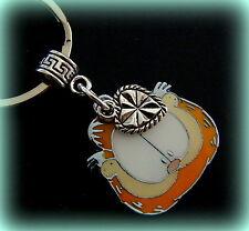 GARFIELD the Cat Keychain Jewelry - Garfield (enameled) with Heart