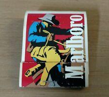 Marlboro Cigarettes cowboy on horse Matchbook