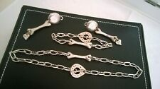 Costume Jewellery Signed Paris Diplodocus Dinosaur Necklace Earrings Bracelet