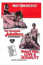 NAKED MAN, LOVE AND SEXUALITY Movie POSTER 27x40 Heidi Maien Michael Maien