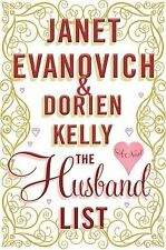 The Husband List by Dorien Kelly and Janet Evanovich (2013, Hardcover)