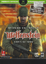 Wolfenstein Return to Castle: Tides of War PS2 & Xbox Prima Strategy Guide PB