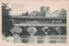 BASSANO DEL GRAPPA - Il Ponte Vecchio in legno 1924