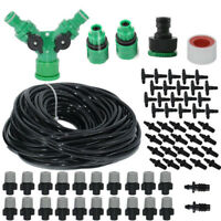 Water Irrigation Kit Set Micro Drip Watering System Plant Garden Tool Sprinkler