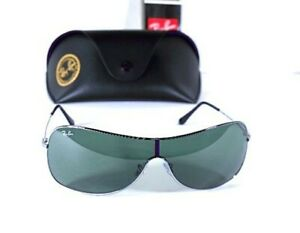 Authentic Ray-Ban RB3211 004/71 Large 125 3N Men's Sunglasses w/ Case