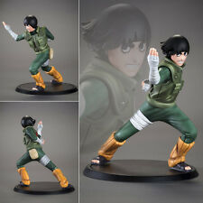 2017 Collections Anime Figure Toy Naruto Rock Lee Figurine Statues 15cm