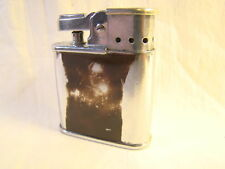 Vintage Ronson Whirlwind Chrome & Enamel Wind Guard Lighter Sparking Well