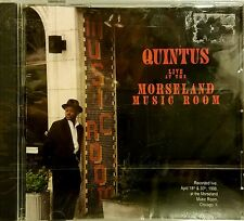 Quintus Live at The Morseland Music Room CD