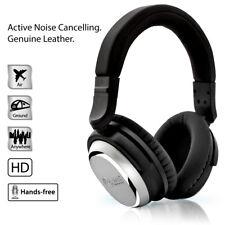 NoiseHush i7 Aviator Active Noise Cancelling Headphones 3.5mm - Black