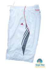 NEW ADIDAS Mens Climalite TENNIS PRACTICE SHORTS White XXL