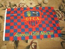 drapeau flag ancien GFCA GAZELEC AJACCIO AIACCIU CITA NOSTRA  95 X 62 CM ULTRA