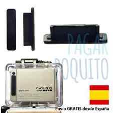 Tapa anti polvo ranura conector puerto plug lcd BacPac GoPro Hero4 Hero3 Hero3+