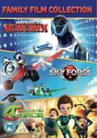 Aventura De Roborex / Sky Force / Fantástico 4orce DVD Nuevo DVD (SIG276)