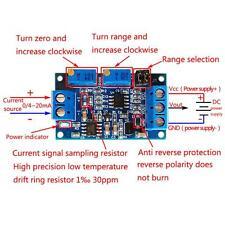 Quality 0/4-20mA To 0-3.3V5V10V Voltage Transmitter Signal Converter Module DL