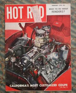 HOT ROD 1952 Cadillac V8 swap 1940 Ford 1923 25 Ford T's EL MIRAGE San Diego vtg