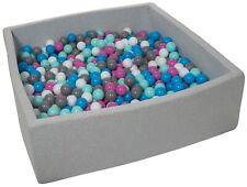 Piscina infantil para niños de bolas pelotas 900 piezas, aprox. 120x120cm