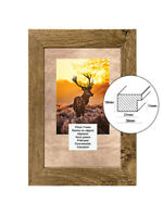 PHOTO PICTURE FRAM POSTERS FRAMES WOOD WOODEN EFFECT