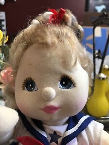 Vintage Rare My Child Doll Mattel Strawberry Blonde Hair