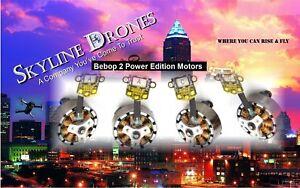 Parrot Bebop 2 POWER EDITION FULL SET of 4 Motors Kit....(N-1081A)x2 (N-1082C)x2
