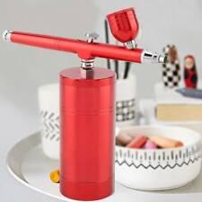 0.3mm Mini Action Air Brush Airbrush Kit Red Spray Gun Nail Art Paint Art CA