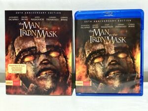 The Man in the Iron Mask w/ Rare Slipcover (Blu-ray, 2018) Shout Factory 1998