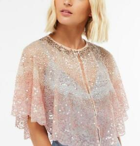 Accessorize - WOW OMBRE SEQUIN CAPE - Multicoloured (Brand New With Tag)One size