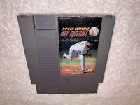 Roger Clemens' MVP Baseball (Nintendo NES) Authentic Game Cartridge Vr Nice!