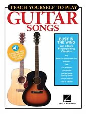 Teach Yourself to Play Guitar Songs: Dust in the Wind & 9 More Songs 000152184