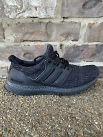 Adidas Ultra Boost 4.0 Triple Black Running Shoes Men's Size 9.5 F36641