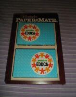 LOTE 2 PUZZLES EDUCA PAPER MATE PAPERMATE PUZZLE